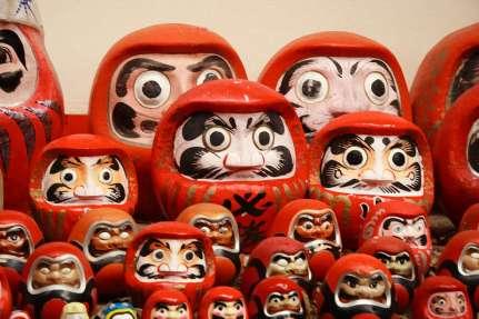 Daruma-Dolls