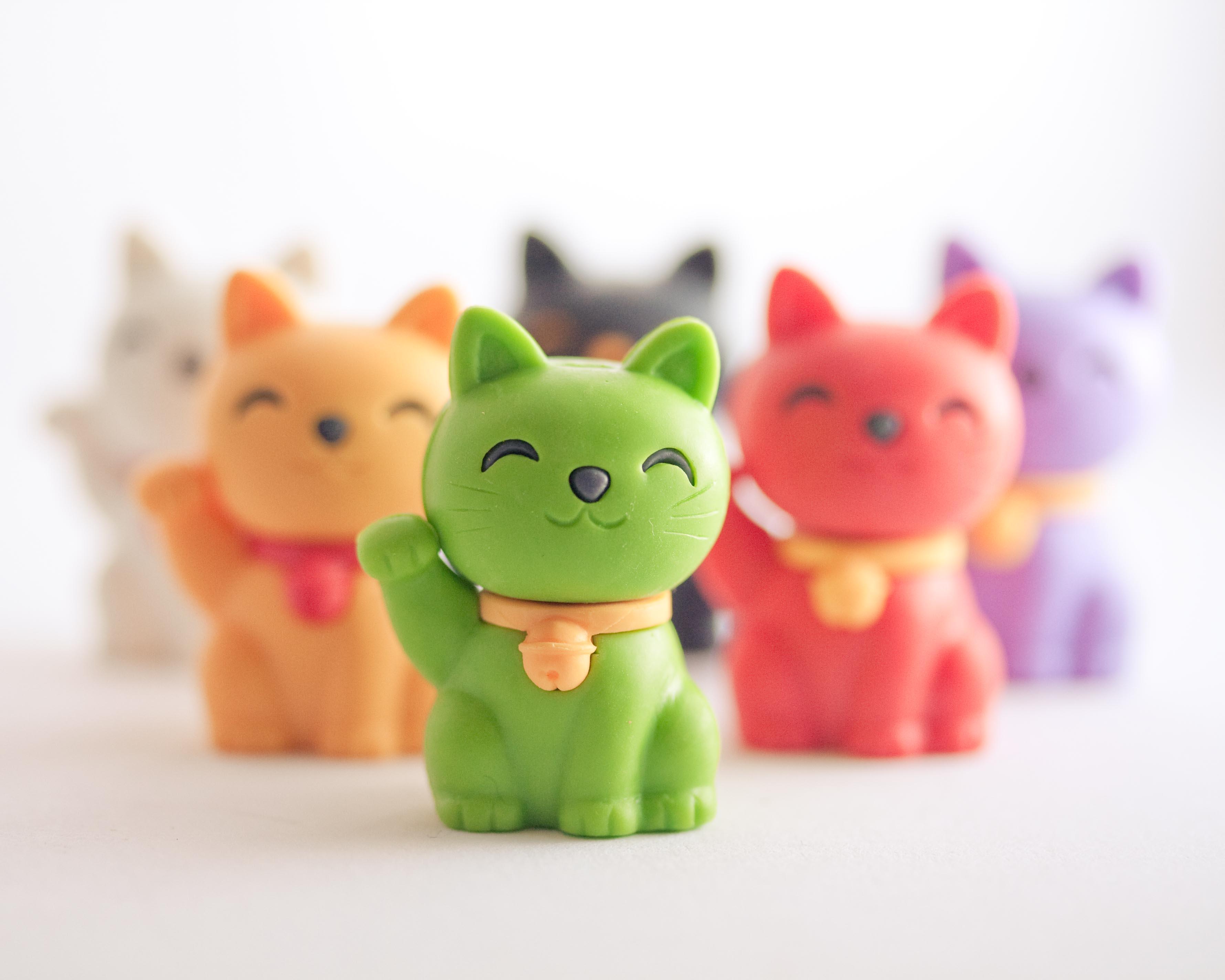 Maneki Neko Japanese Lucky Cat Asahi Imports