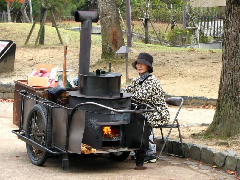 yakiimo vendor